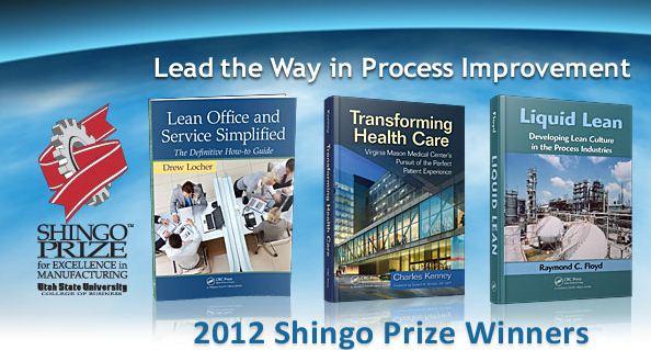 2012 Shingo Prize Winners