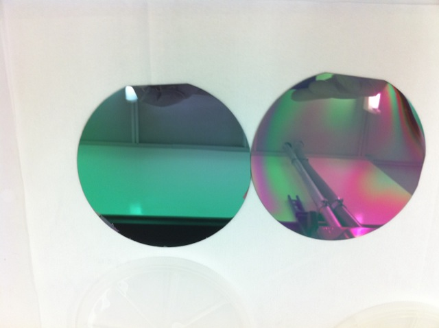 NCD and UNCD Treated Wafers_4inch