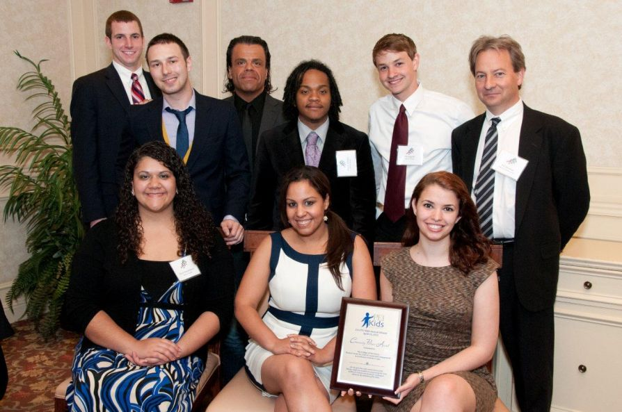 Staff/students from PEI Kids and The College of New Jersey's Bonner Center