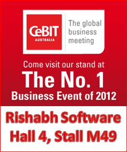Rishabh at CeBIT 2012