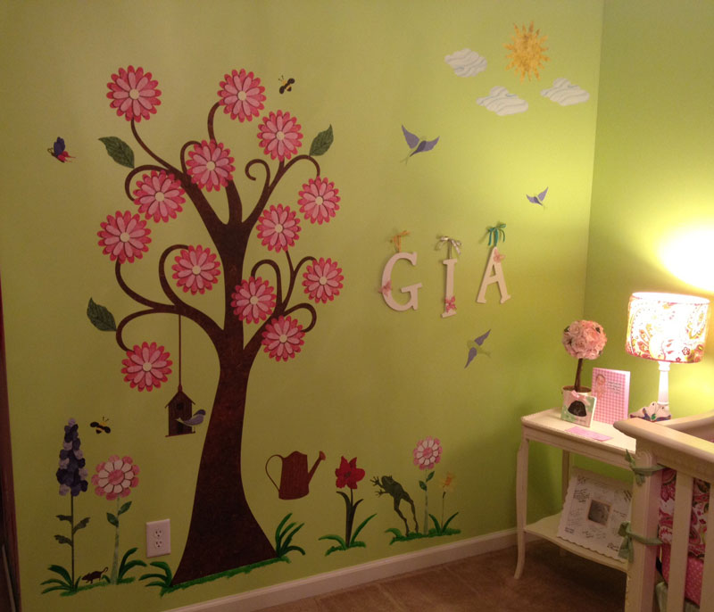 Splendid Garden Stickers by My Wonderful Walls