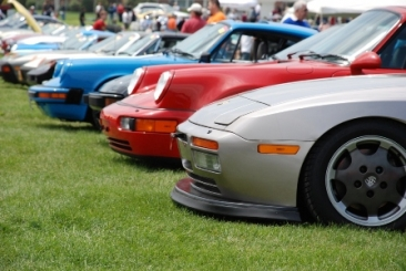 Porsches at Carlisle
