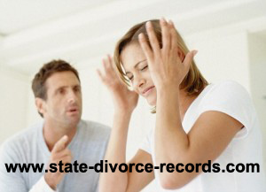 state divorce records