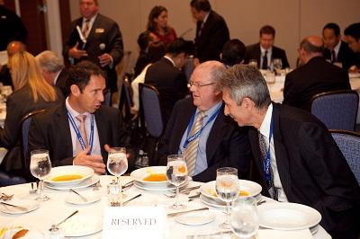 Brad Beira - Marsh Pty, Bernard Merkel - Delegation of European Union,