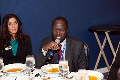Prof. Peter A. Nyong'o Minister of Medical Services, Kenya