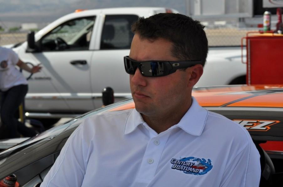 Jonathon Gomez, driver of the #22 Century Boatland Chevrolet
