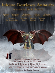 Inferno Dantesco Animato- Italian Poster