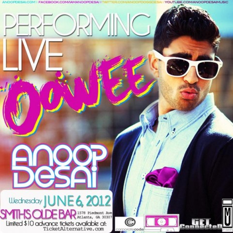 ANOOP DESAI SHOW GRAPHIC
