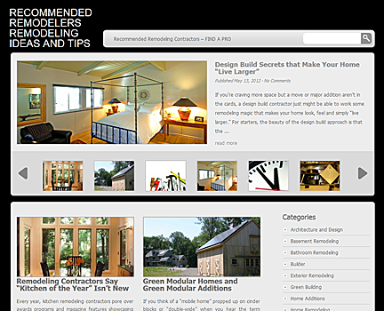 Recommended Remodelers Remodeling Ideas and Tips New Website