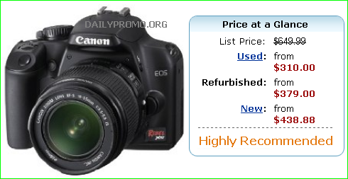 Amazon.com : Canon Rebel XS DSLR Camera with EF-S 18-55mm ...