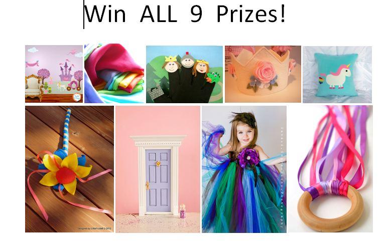 Princess Treasures Giveaway by My Wonderful Walls