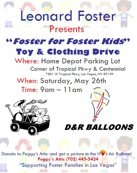 Foster for Foster Kids event