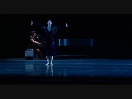 "RWB's Sophia Lee dances to Leonard Cohen's ""Hallelujah"" w. Allison Crowe onstage"