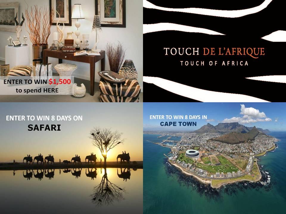 Giveaway Safari and Decor