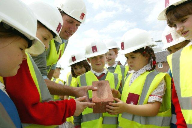 Pupils from Grangemount School visit Davidsons