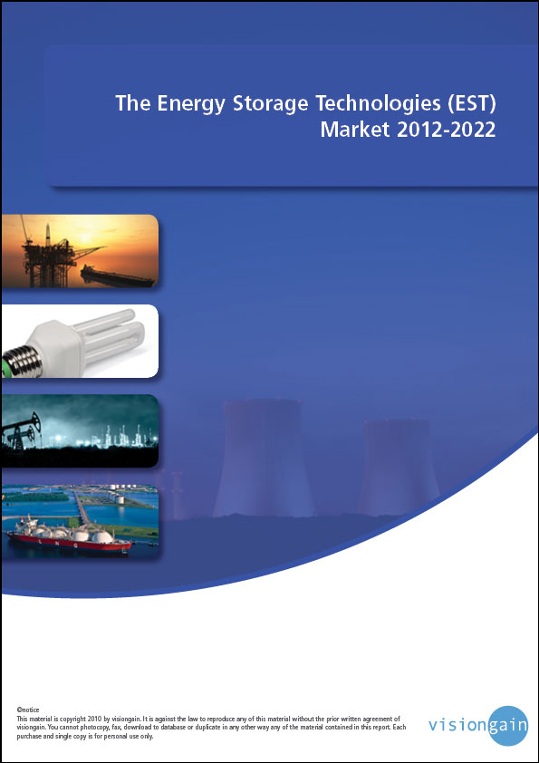 The Energy Storage Technologies (EST) Market 2012-2022