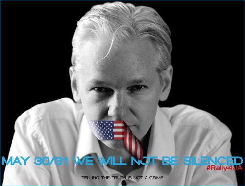Rally4JA: Free Julian Assange