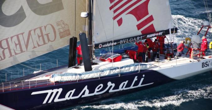 Broadband 4G Radar guides Maserati
