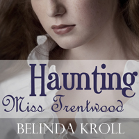 Haunting Miss Trentwood audio book cover