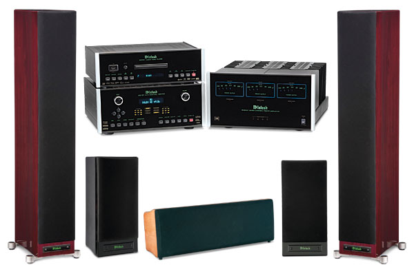 McIntosh Introduces New Dream Home Theater System PRLog