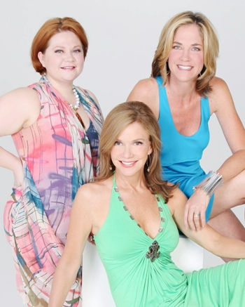 Divas of Daytime - Brier, Eakes and DePaiva Photo Credit John Paschal