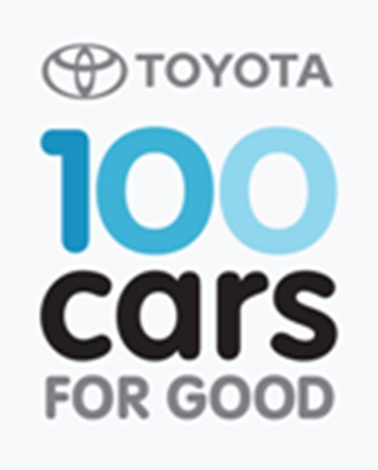 Toyota 100 Cars For Good Program