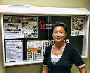 New Director of Marketing at Construction Resources, Frances Chang