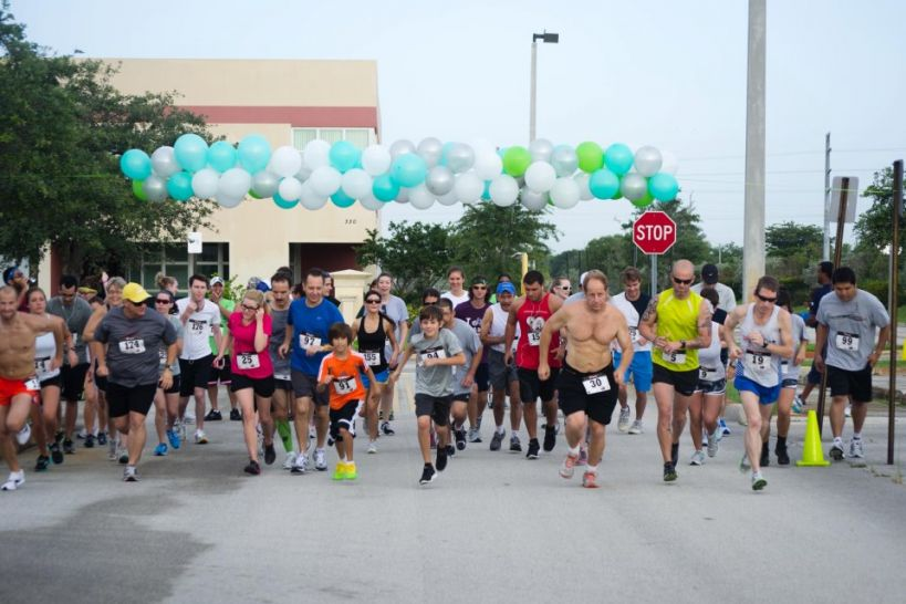 "Barry School of Podiatric Medicine ""Heal the Stride"" 5K Run/Walk"