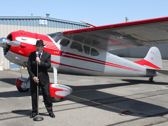 George A. Santino at Paine Field in Everett, WA