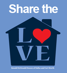 Share the Love with Ronald McDonald Houses.