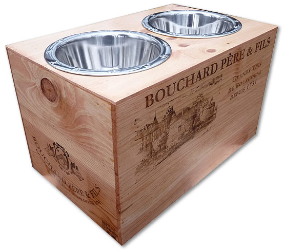 Elevated Dog Bowls For Giant Breeds
