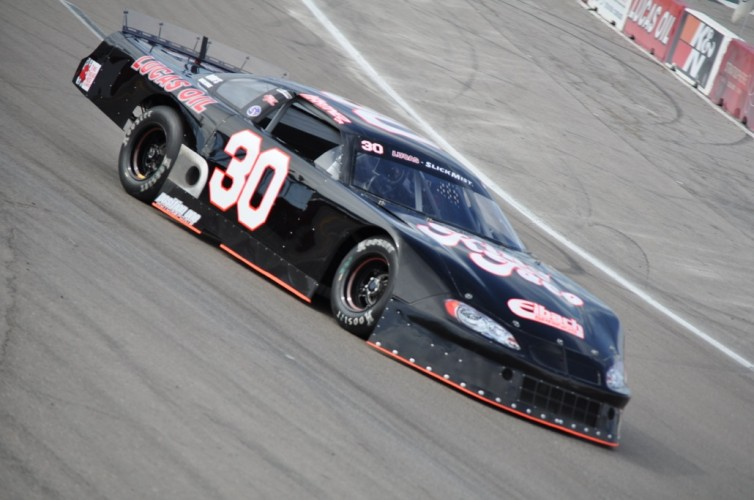 Luis Martinez Jr. in the #30 King Taco Chevrolet this weekend at The Bullring.