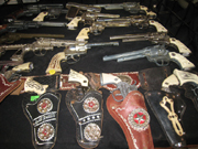 selection of guns available at Vero Beach Show
