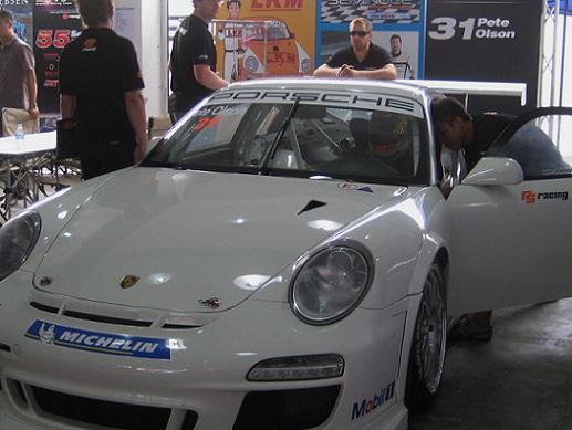 Pete Olson Porsche Cup GT3