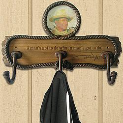 John Wayne Coat Rack