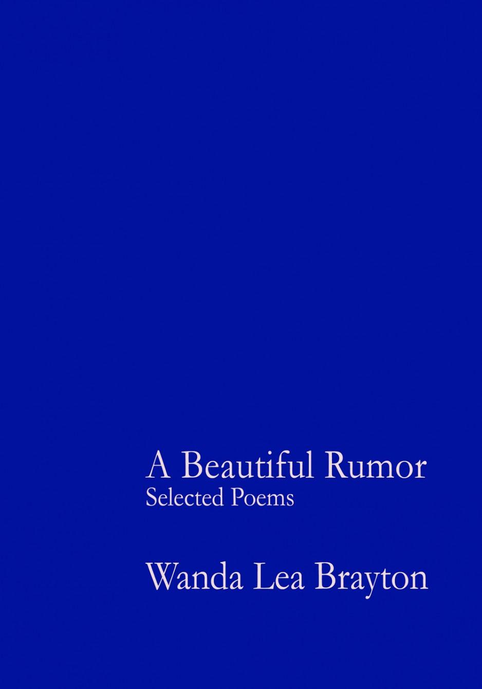 A Beautiful Rumor - Selected Poems