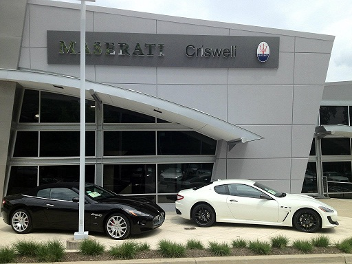 criswell maserati is now open for business in germantown maryland