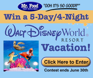 Enter our Disney Vacation Giveaway!