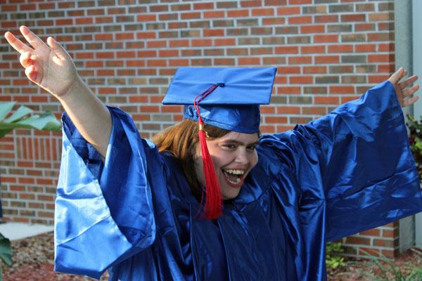 2012 LIFE Academy Graduate Tiffany Chantaca Celebrates at Graduation