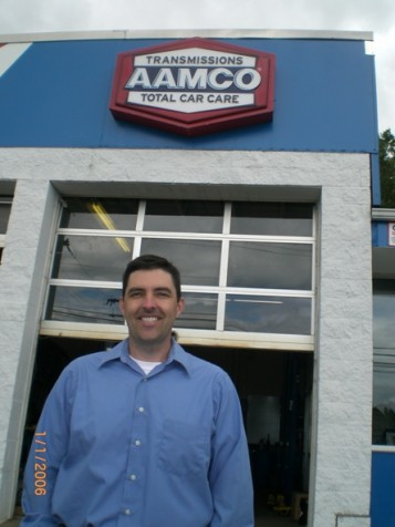 AAMCO franchise owner, Dave Stickler in Waterbury, Connecticut