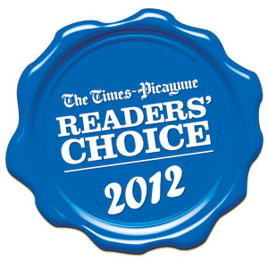"2012 Readers' Choice Awards #1 ""Place to Get Married"""