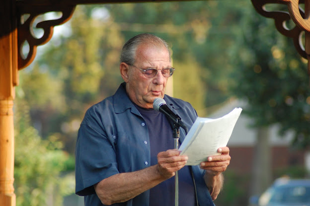 Herbert Siegel, Summer Gazebo, Aug. 8, 2011 [Photo Credit: Tony Iovino]