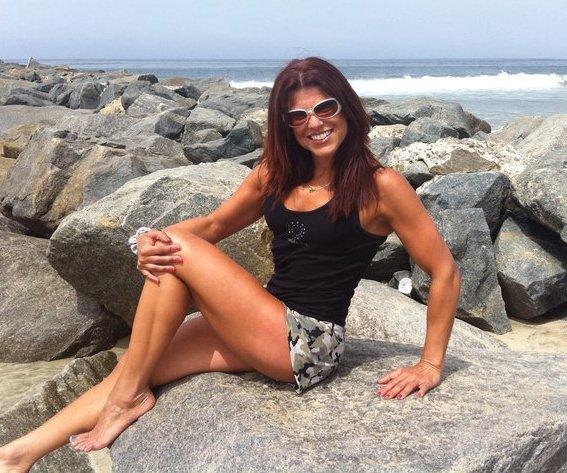 Josette on Rocks