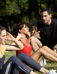 Personal Training in London's Parks