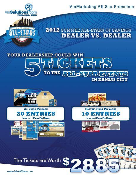 Enter to Win MLB All-Star Game Tickets at VinAllStars.com