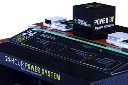 Kosakura Display for Duracell Powermat