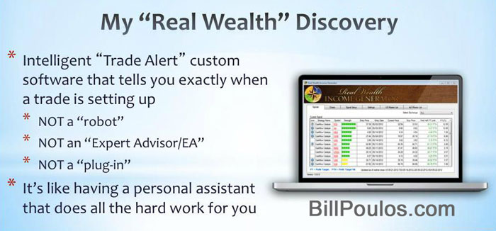 Bill Poulos Trade Alert Software