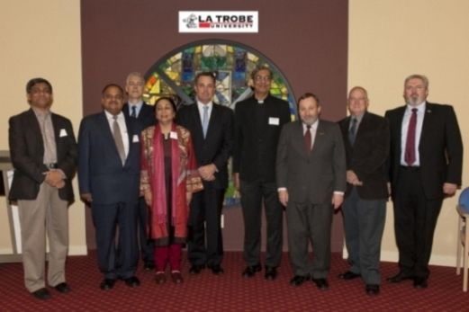 Indian College Principals at La Trobe University w