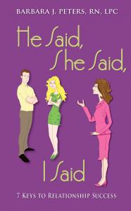 He Said, She Said, I Said
