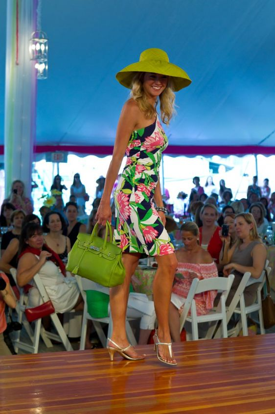 Miss Rhode Island 2009 Ashley Bickford in Lilly Pulitzer